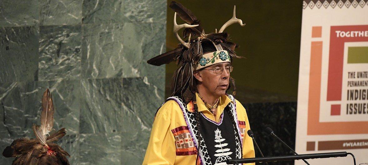 Inauguración de la XVII Sesión del Foro Permanente para las Cuestiones Indígenas.