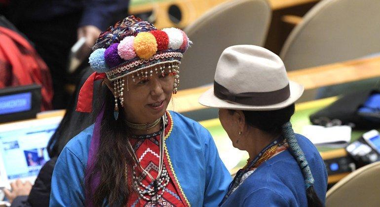 Ежегодно на сессии Постоянного форума по вопросам коренных народов в ООН собираются делегаты со всего мира