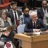 O chefe humanitário da ONU, Mark Lowcock, referiu os vários desafios que o Iêmen enfrenta.