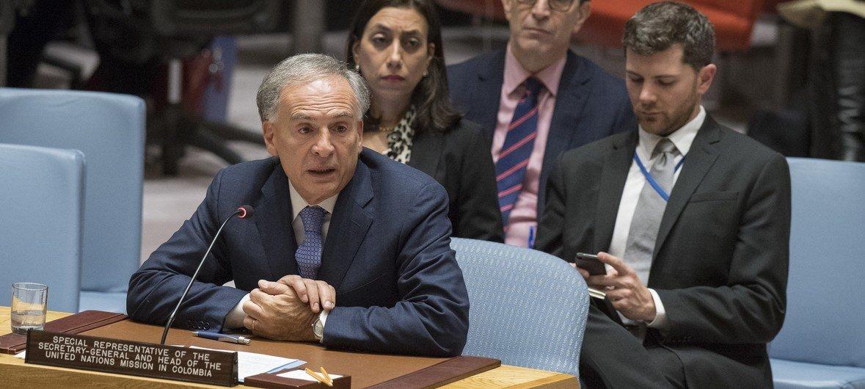 Colombie : le processus de paix a permis une réduction de la violence, selon l'envoyé de l'ONU
