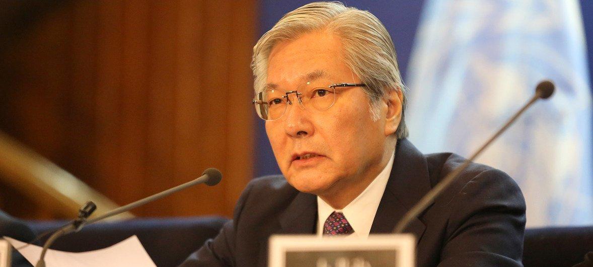 Tadamichi Yamamoto diz que estes ataques não podem interromper o caminho para a paz.
