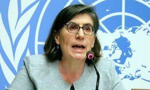 人权高专办发言人斯罗塞尔(Elizabeth Throssell)