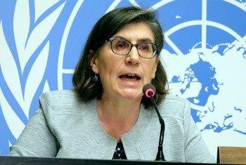 Elizabeth Throssell, porte-parole du Haut Commissariat des Nations Unies aux droits de l'homme (HCDH).
