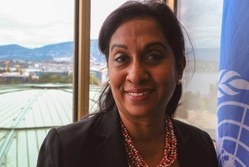 Shamika Sirimanne, UNCTAD Director of Technology and Logistics, at the United Nations Office at Geneva.