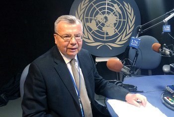 Yury Fedotov, Executive Director of the United Nations Office on Drugs and Crime (UNODC), sits down for an interview with UN News.