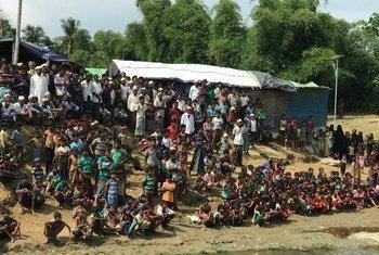 Wajumbe wa Baraza la Usalama la Umoja wa Mataifa wamezuru makazi ya Kutupalong yanayohifadhi wakimbizi wa Rohingya huko Cox's Bazaar Bangladesh