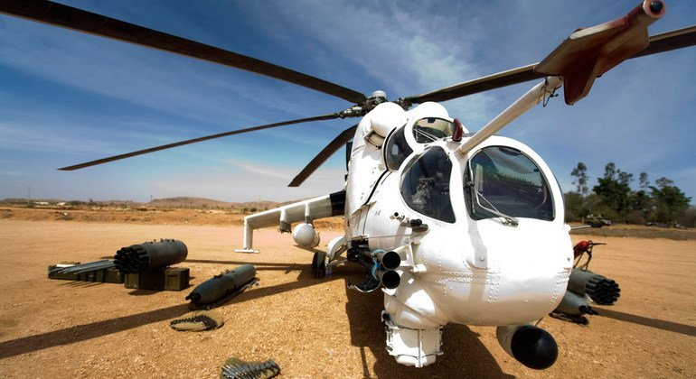 In February 2010, Ethiopia provided five tactical helicopters to the African Union-United Nations Hybrid Operation in Darfur (UNAMID).