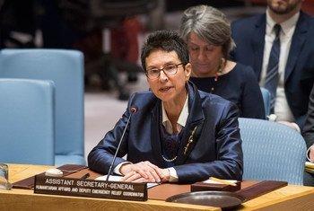 Заместитель Координатора чрезвычайной помощи ООН Урсула Мюллер