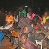 Watoto hawa wakiwa kwenye makazi ya wahamiaji huko Niamey nchini Niger, ambako watu wengi huishi baada ya kufukuzwa kutoka Algeria