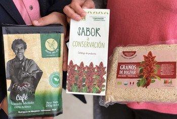 Productos con sabor a conservación, procedentes de la Amazonía de Perú.