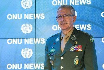 O general brasileiro Elias Rodrigues Martins Filho comandou as forças da ONU na RD Congo até final de outubro.