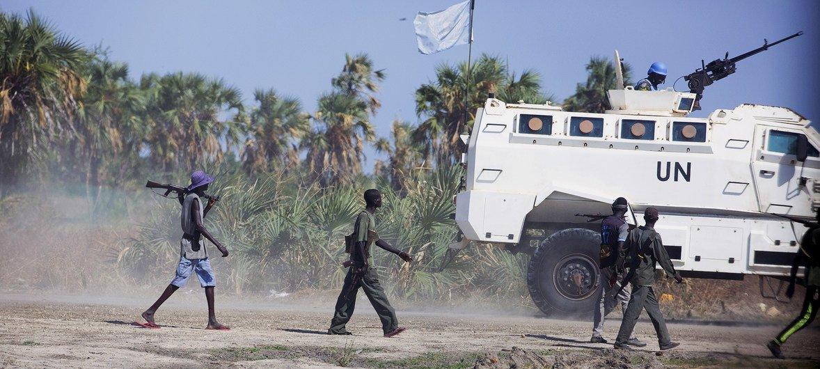 Ghasia zinashuhudiwa katika jimbo la Unity nchini Sudan Kusini.