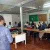 تقوم بعثة اليوناميد في دارفور بتوفير ودعم ا ورش العمل والبرامج التدريبية للصحفيين في العديد من المجالات منها السلامة المهنية للصحفيات - دارفور- السودان