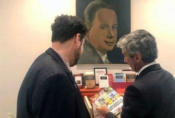 Portugal ofereceu cerca de 20 livros.
