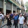 O secretário-geral António Guterres e a secretária-executiva da Cepal, Alicia Bárcena, participam em encontro em Havana.