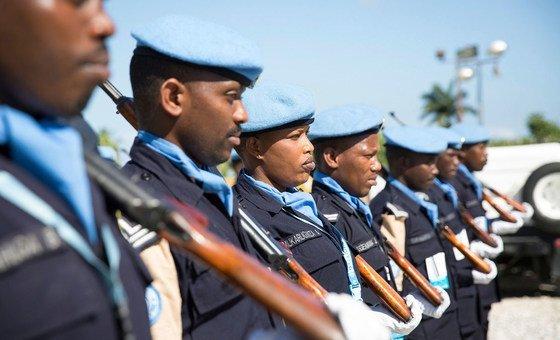 """A Polícia Nacional do Haiti registrou """"mudanças significativas""""."""