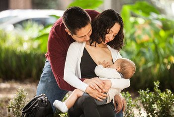 Selon l'UNICEF, seulement 4 bébés sur 10 sont nourris exclusivement au sein