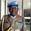 Luteni Generali Leonard Ngondi, kamanda wa kikosi cha UNAMID, wakati wa mahojiano na UN News Kiswahili, kando mwa mkutano kuhusu vikosi vya kulinda amani iliyofanyika  kwenye makao makuu ya Umoja wa Mataifa