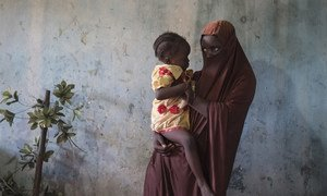 Dada, 15, was abducted by Boko Haram and became pregnant with her daughter after she was raped while in captivity.