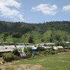 缅甸克钦邦的一个定居点资料图片。