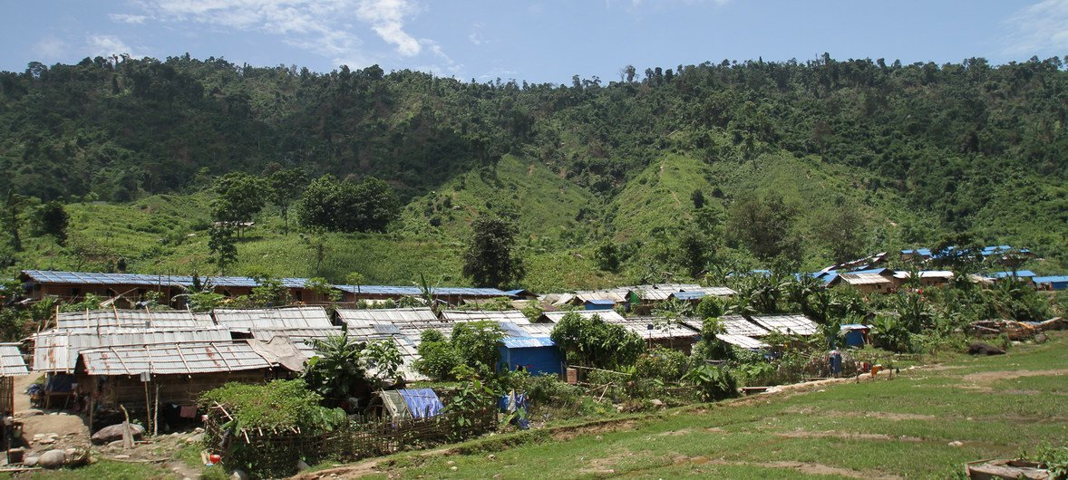 A settlement in Kachin province, Myanmar. (file)