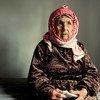 Mkimbizi kutoka Syria mwenye umri wa miaka 111. UNHCR yasema inapata taabu kuwasaidia wakimbizi kama huyo kifedha, inapungukiwa