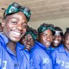 Les participants à une formation de l'Organisation internationale pour les migrations (OIM) sur la soudure, la mécanique, la maçonnerie et la couture au Rwanda. Selon un rapport de l'ONU, les envois de fonds représentaient 13% du PIB du pays en 2012.