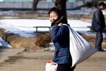 En la República Popular de Corea, el Programa Mundial de Alimentos lleva a cabo una labor fundamental de ayuda.