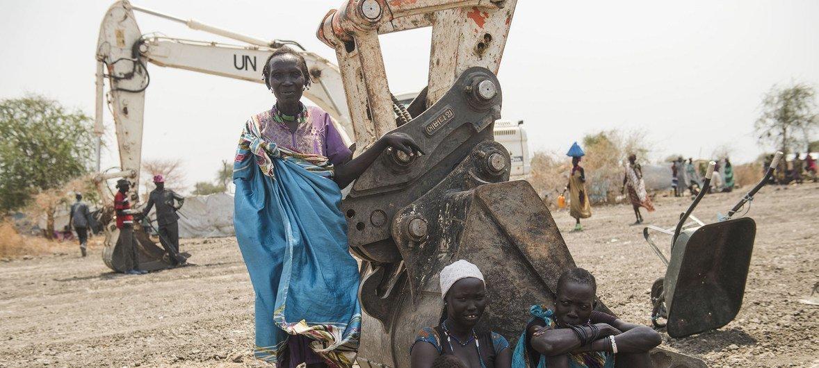Reconstrução de estrada no Sudão do Sul durou 22 dias.
