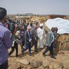 UN Emergency Relief Coordinator Mark Lowcock visiting South Kordofan during his three-day mission to Sudan.