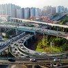 Vista panorámica de Shangai.