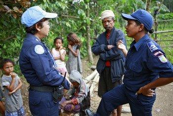 UNPOL et la police timoraise enquêtent sur les abus domestiques.