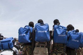 المعارضة تطلق سراح 210 طفلا في جنوب السودان