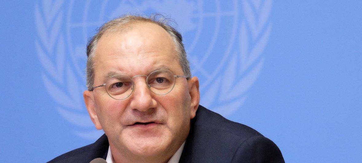 الدكتور بيتر سلامة نائب المدير العام لمنظمة الصحة العالمية للاستجابة الطارئة.