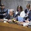 António Guterres no Conselho de Segurança.