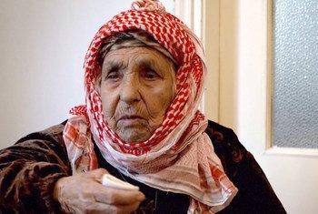 معمرة سورية تبلغ من العمر 111 عاما