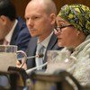 UN Deputy Secretary-General Amina Mohammed addresses the Economic and Social Council special meeting on resilient and inclusive societies for all.