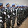 联合国马里稳定团的中国维和人员。
