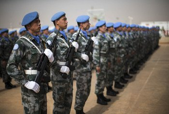Миротворцы из Китая в Мали.
