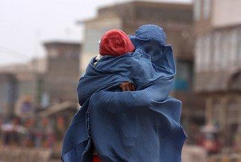 A violência contra mulheres continua a ser comum no Afeganistão.