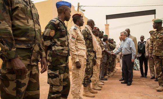 Secretário-geral visitou o Mali esta semana.