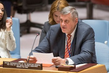 秘书长伊拉克事务特别代表库比什。(资料)