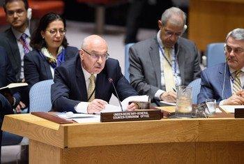 Заместитель Генерального секретаря ООН, глава Контртеррористического управления Владимир Воронков