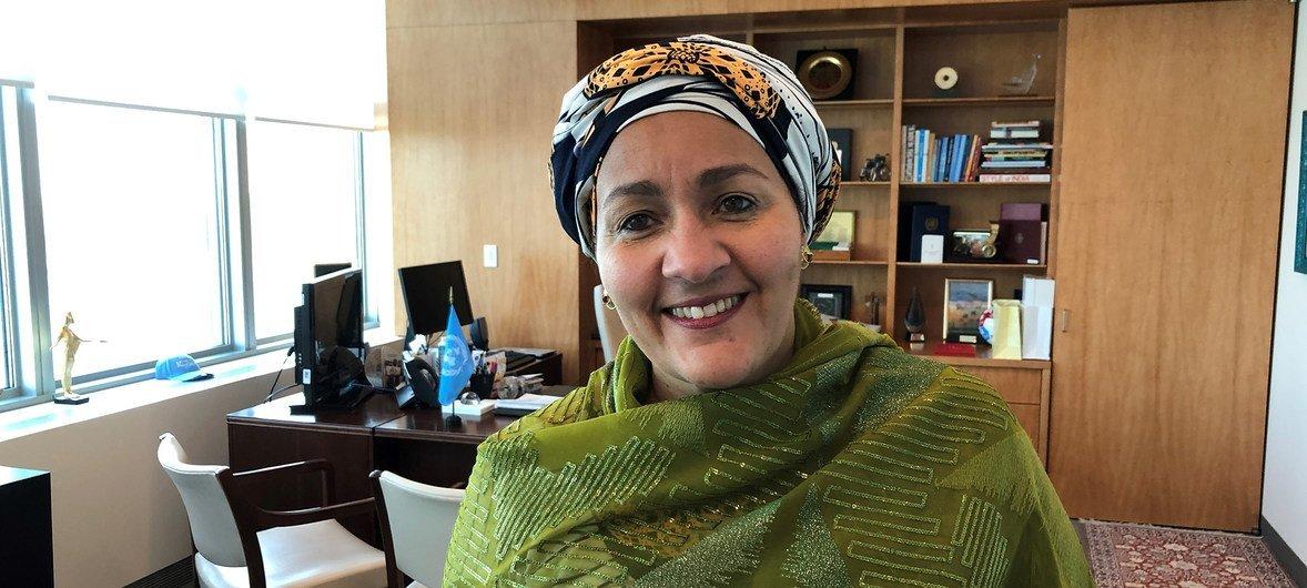 Первый заместитель Генерального секретаря ООН Амина Мохаммед