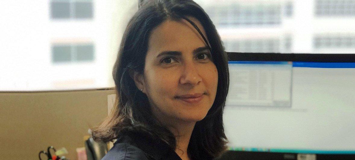 Adriana Gomes, especialista da OMS.