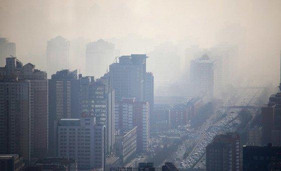 OMS revelou que cerca de 93% das crianças do mundo, com menos de 15 anos de idade, respiram ar tão poluído que coloca sua saúde e desenvolvimento em grave risco,