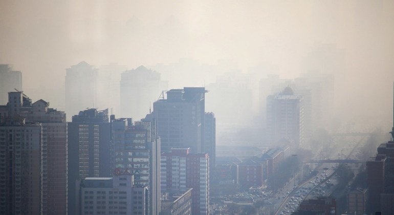 In cities like Beijing in China, smog has become a major health issue.