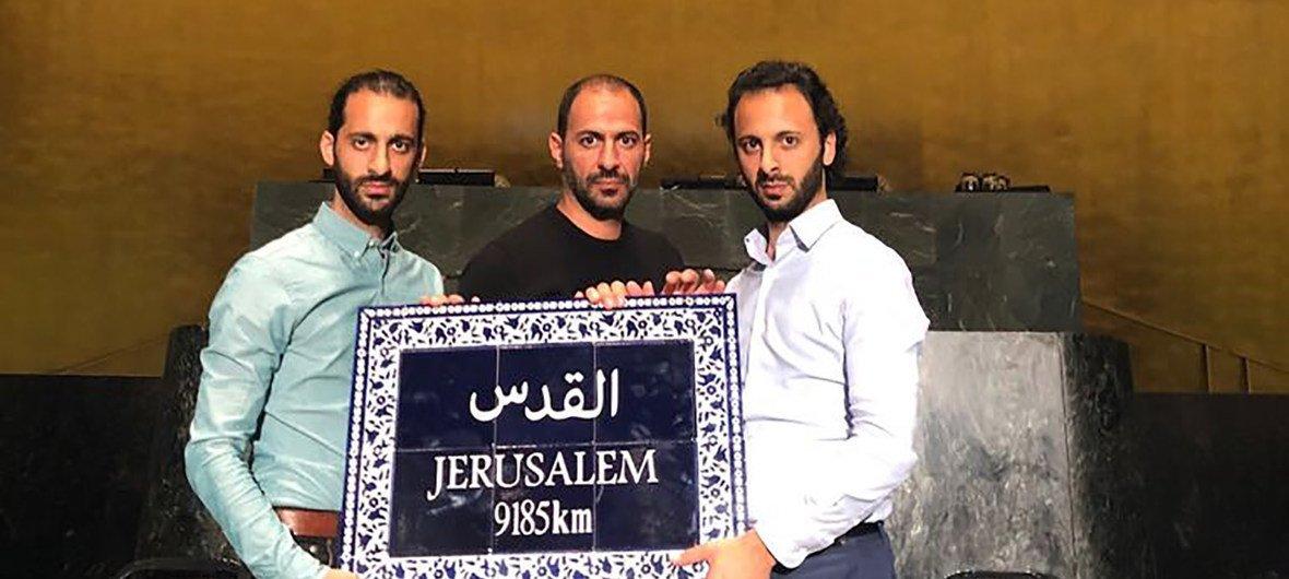 الثلاثي جبران طفرة فنية تجلت في سماء العالم العربي