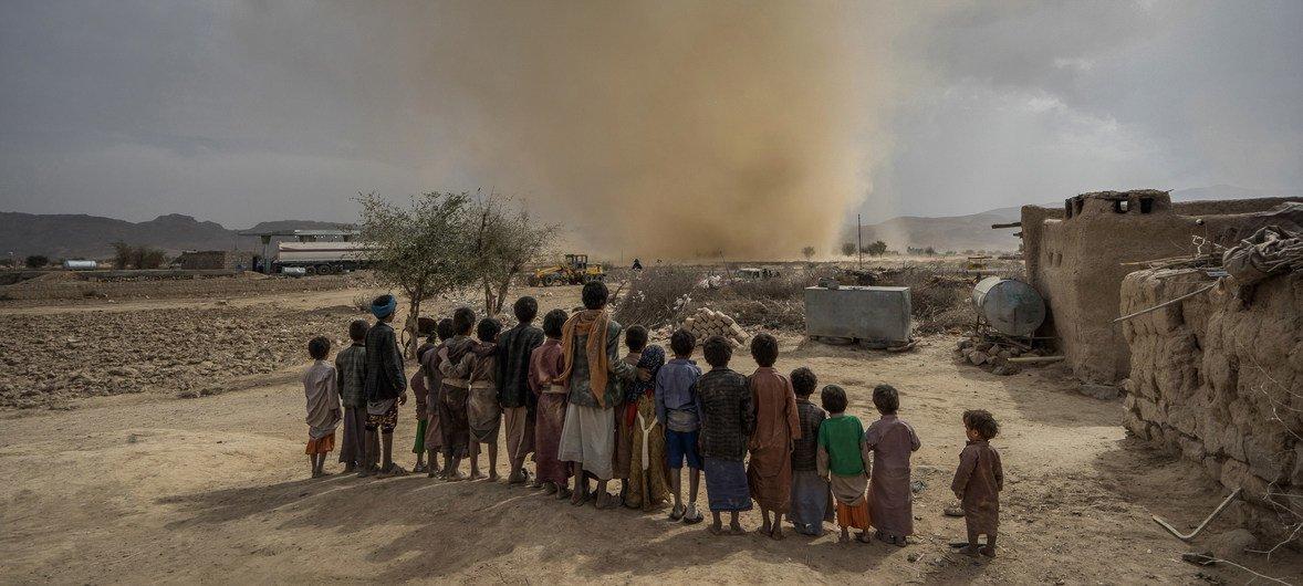La situación humanitaria en Yemen es la peor de todo el mundo.