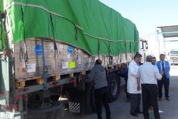 L'UNICEF fournit des fournitures médicales d'urgence à 70 000 personnes dans la bande de Gaza